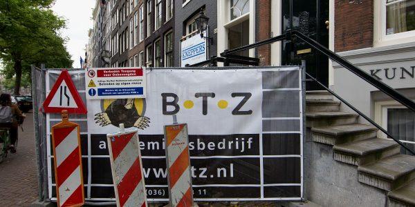 Sloopwerkzaamheden Keizersgracht Amsterdam